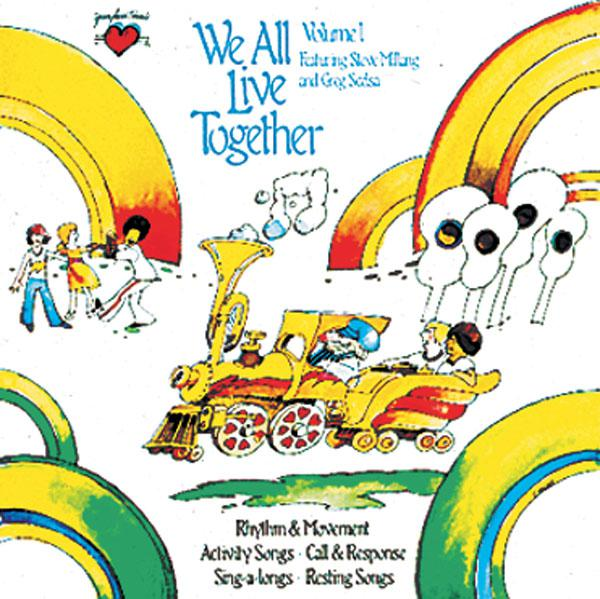 We All Live Together Volume 1 CD Greg & Steve