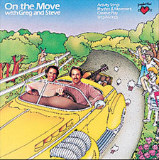 On The Move CD Greg & Steve