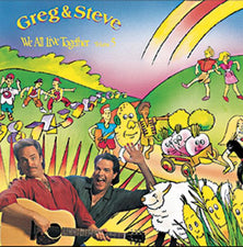 We All Live Together Volume 5 CD Greg & Steve