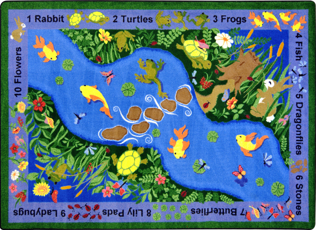 "You Can Find© Classroom Rug, 5'4"" x 7'8"" Rectangle"