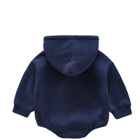 Image of Barboteuse Sweat USA Bleu