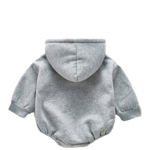Image of Barboteuse Sweat USA Gris