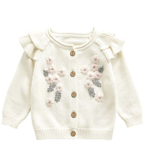 Image of BEST SELLER - Ensemble Gilet et Barboteuse Florine -30%