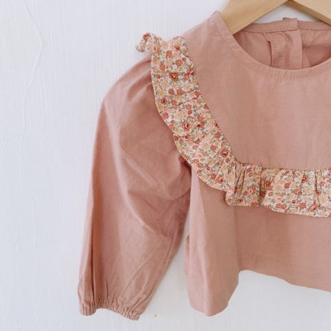 Image of Ensemble Blouse et Bloomer Camille