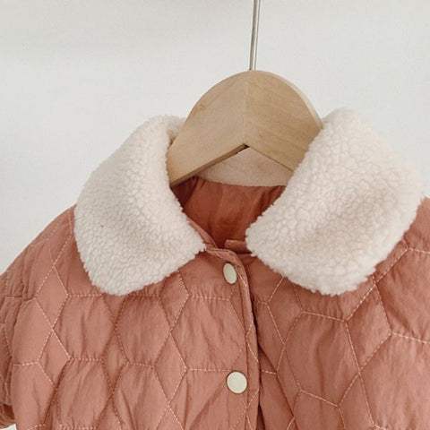 Manteau Marie - Rose