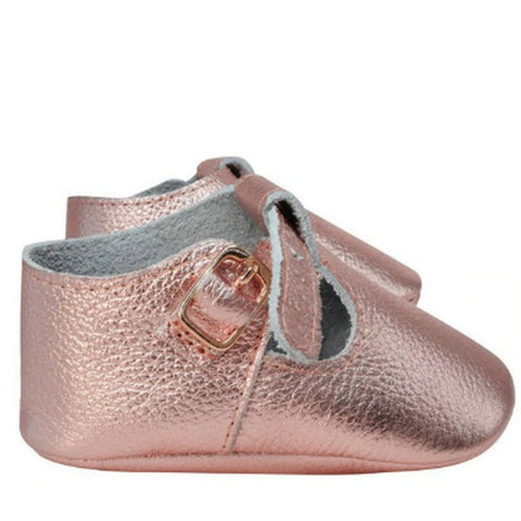 Image of Ballerines Dorées Rose