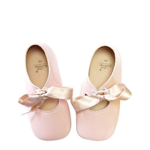 Ballerines Noeud Rose