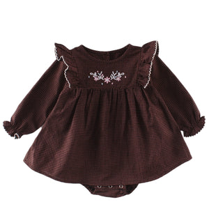 Barboteuse Robe Marron