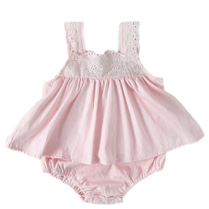 Barboteuse Robe Rose
