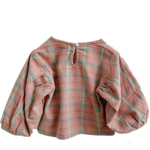 Image of Blouse Carreaux Rose