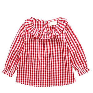 Blouse Vichy Rouge