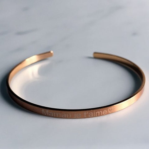 Image of Bracelet Jonc Personnalisable