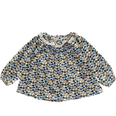 Image of Blouse Dina - Bleu