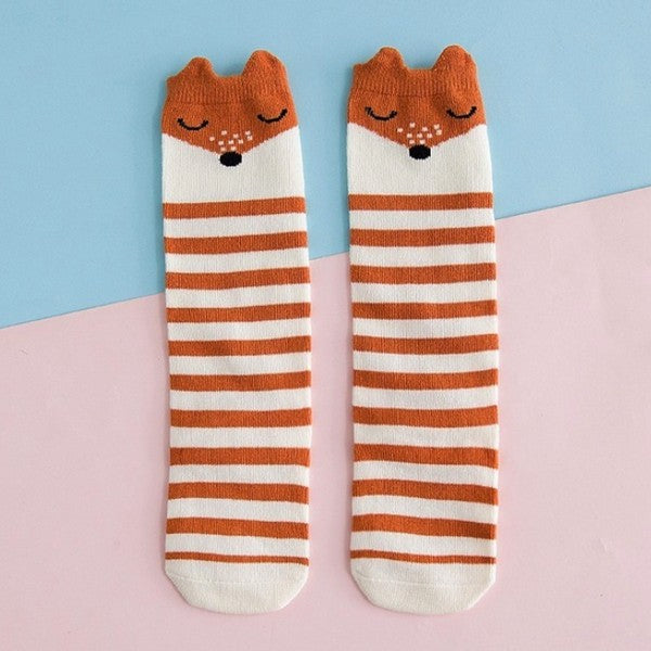 Chaussettes Rayures Renard