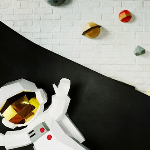 Image of DIY Papercraft 3D - Astronaute