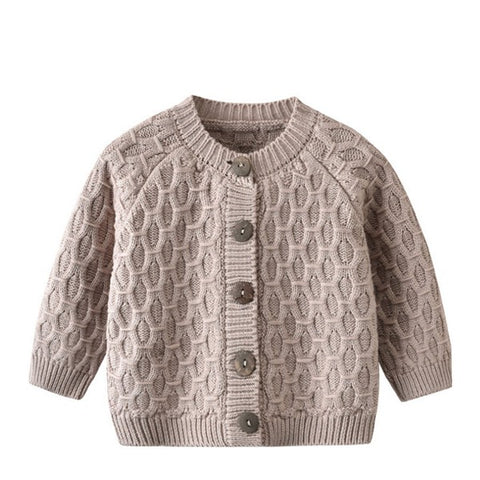 Image of Cardigan Ajouré Taupe