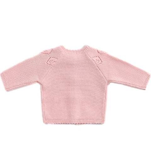 Image of Gilet Losange Rose