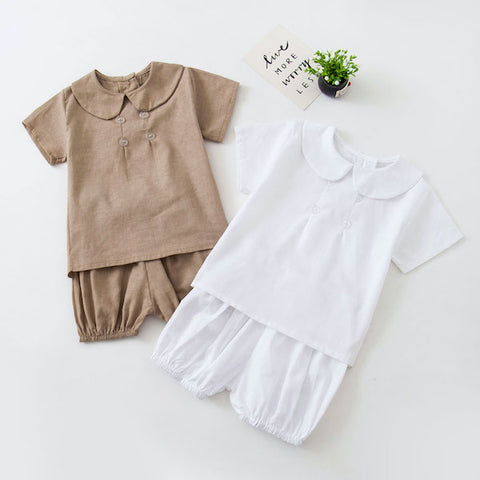Image of T-Shirt et Short Blanc