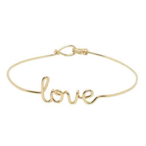 Bracelet Fil Personnalisable - Gold filled 14 carats - 🇫🇷 MADE IN FRANCE WITH LOVE ❤️