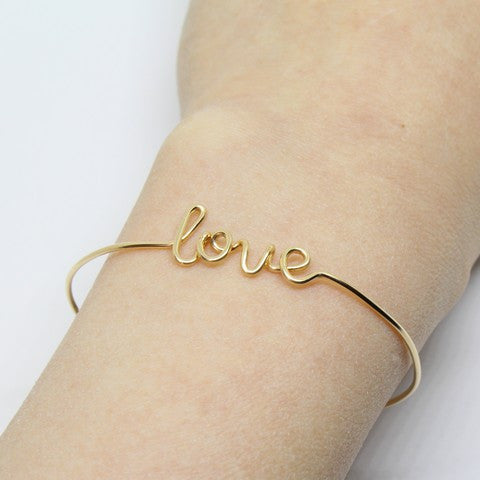 Image of Bracelet Personnalise Gold Filled 1 - Sam and Louloute