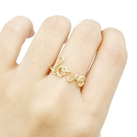 Image of Bague Fil Personnalisable en Gold filled 14 carats -40%