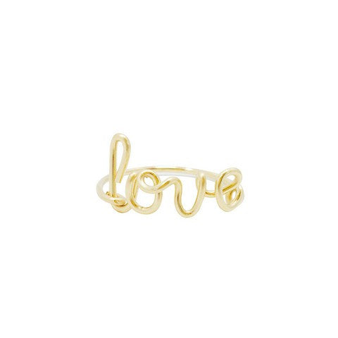 Bague Personnalisable Gold Fillet 14 carats - Sam and Louloute