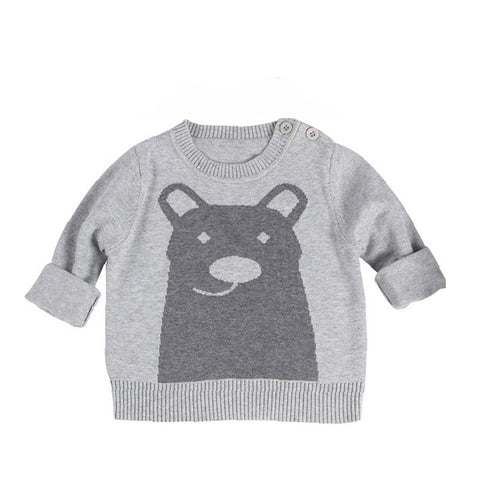 Pull Ours Gris -30%