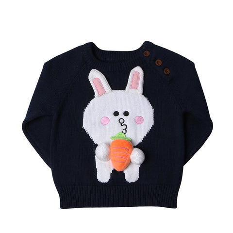 Pull Lapin Carotte -30%