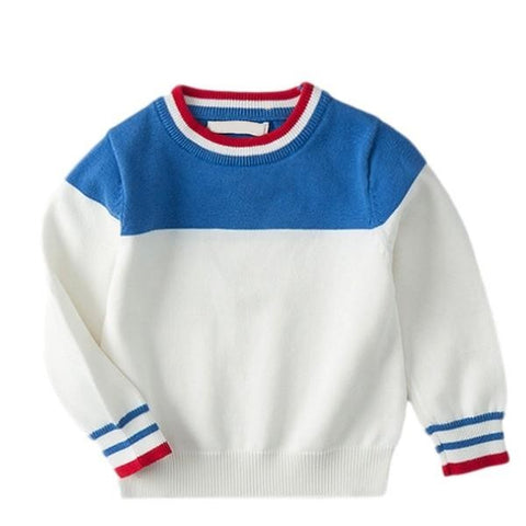 Image of Pull Bleu Blanc Rouge