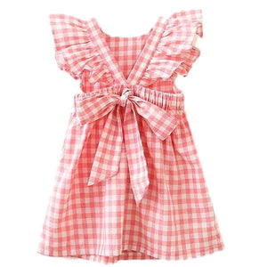 Robe Vichy Rose