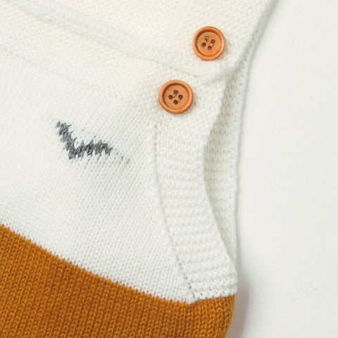 Image of * VENTE FLASH * Barboteuse Salopette Marin, Chaussettes Renard -40%
