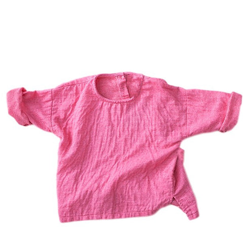 Image of T-Shirt Manche Longue Rose