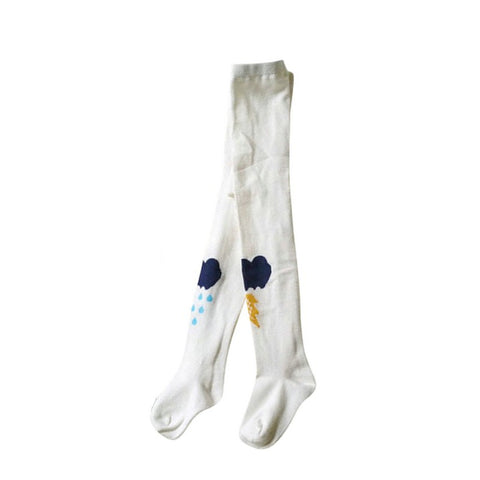 Collants Nuage Blanc -20%