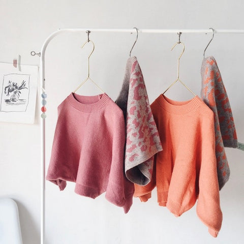 Pull Manches Chauve Souris Rose