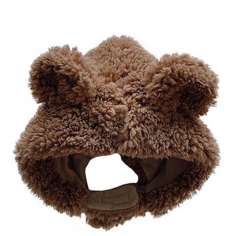 Bonnet Ours Marron