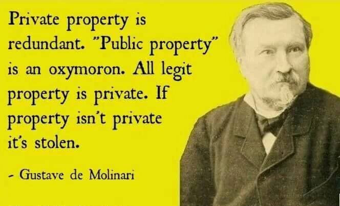 private property is redundant
