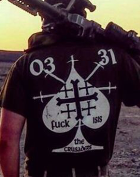 0331 Fuck Isis The Crusaders Shirt