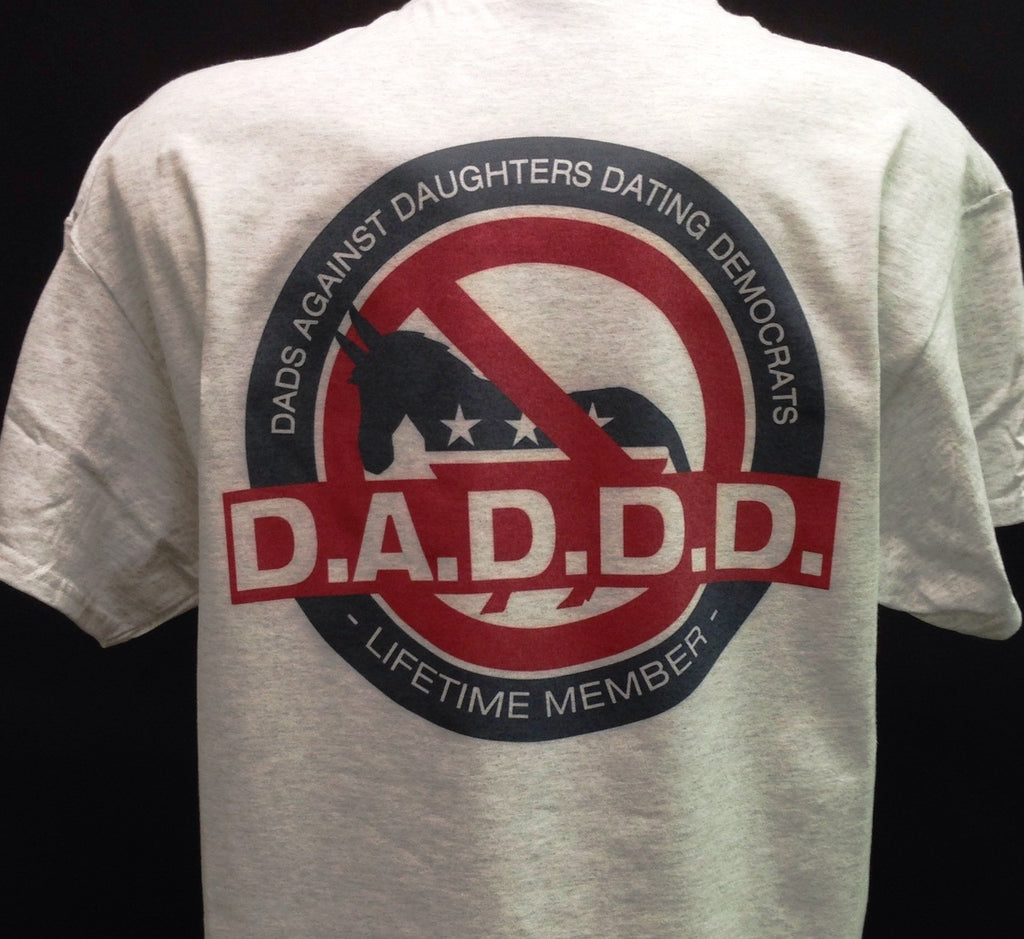 Dads against daughters dating democrats t-shirt #4