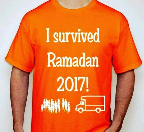 I Survived Ramadan 2017 Shirt