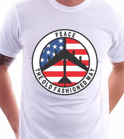 Peace The Old Fashioned Way T-Shirt