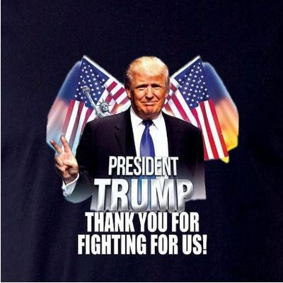 President Trump Thank You For Fighting For Us Shirt Trump T-Shirt
