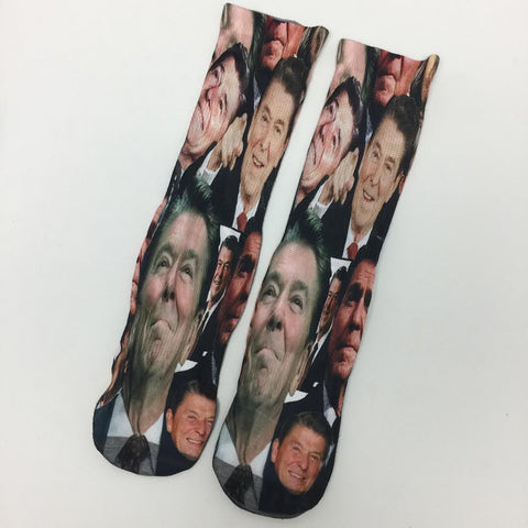 Ronald Reagan Socks