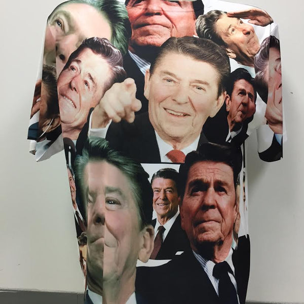 Ronald Reagan All Over Sublimation Shirt