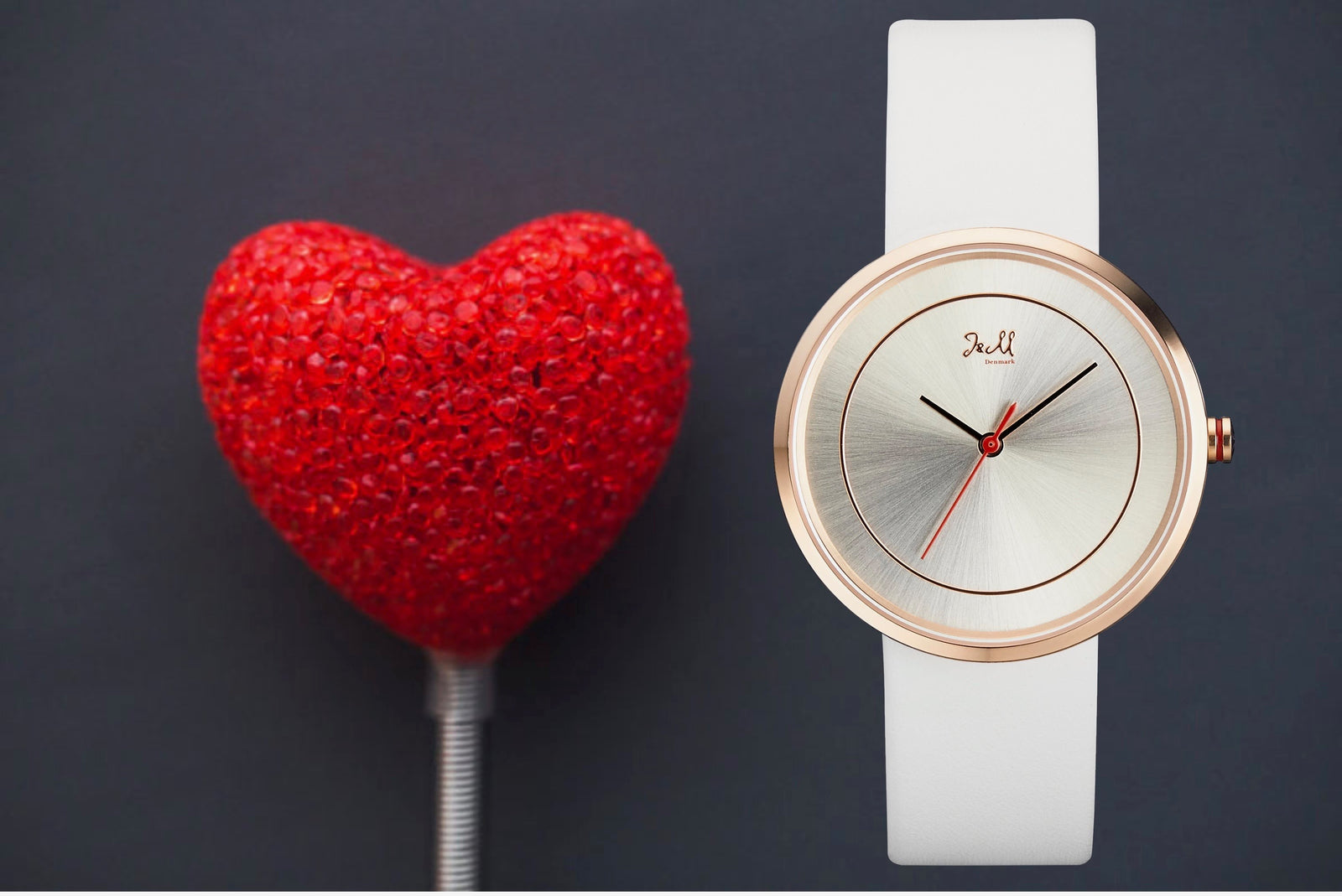 Valentines day with J&M watches