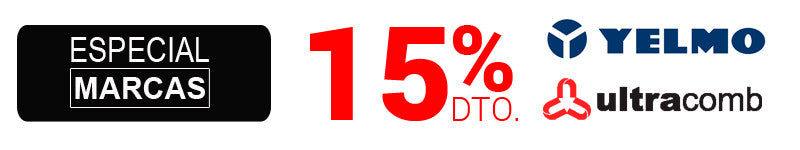 15% OFF en Ultracomb y Yelmo