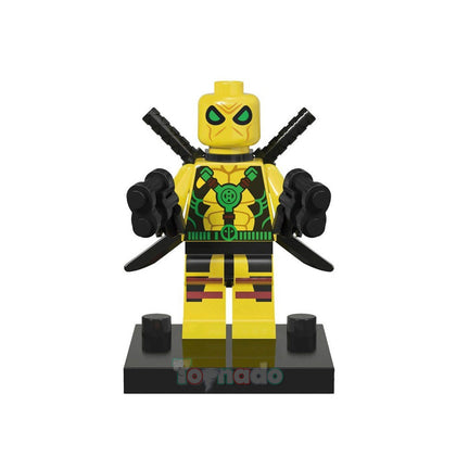 Marvel - Comic Universe - Deadpool (Yellow Suit) Minifigure