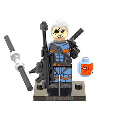 DC Universe - Deathstroke (Old) Custom Minifigure