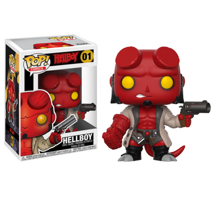 Funko Pop! Comics #01 - Hellboy - Hellboy Vinyl Figure