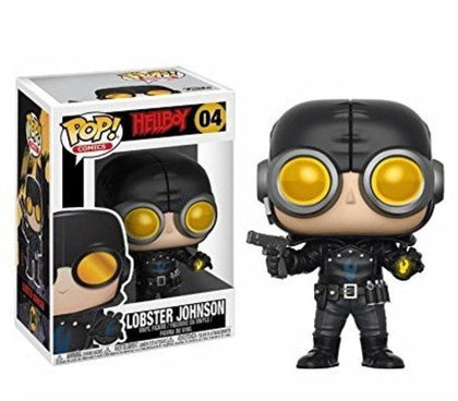 Funko Pop! Comics #04 - Hellboy - Lobster Johnson Vinyl Figure