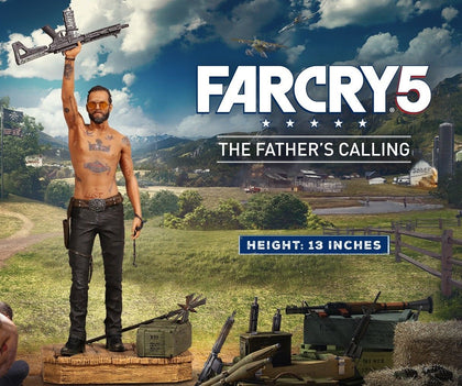 Far Cry 5 - The Father's Calling - Joseph Seed (with Gun & Sceptre) 13-inch Figurine Statue